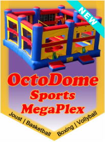 OctoDome Sports Megaplex 4-in-1 Activity Center