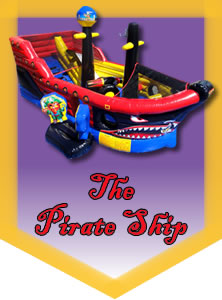 The Li'l Pirate Ship - Don't let the name fool you, it's huge!