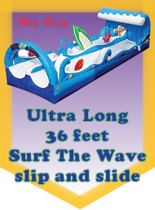 Surf The Wave Slip and Slide - 36 Feet!
