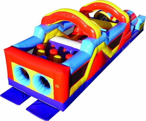 Monster Obstacle Course Inflatable Rental in Central Texas