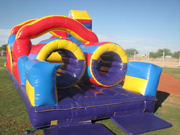 Monster Obstacle Course Inflatable Rental by kiddo kingdom party rentals!